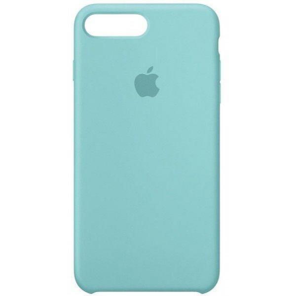 Чехол Silicone Case iPhone 7/8 Plus бирюзовый