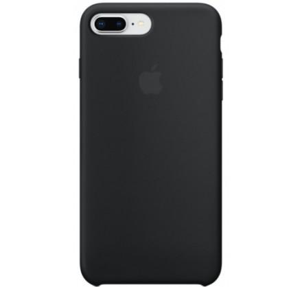 Чехол Silicone Case для iPhone 7/8 Plus черный