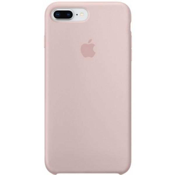 Чехол Silicone Case для iPhone 7/8 Plus светло-розовый