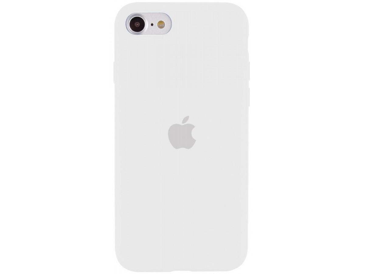 Чехол Silicone Case для iPhone SE 2020 белый в Тюмени