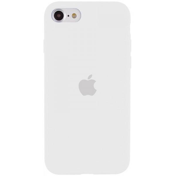Чехол Silicone Case для iPhone SE 2020 белый
