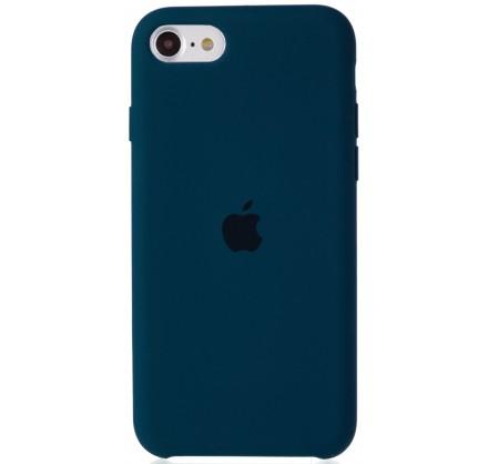 Чехол Silicone Case для iPhone SE 2020 сине-зеленый