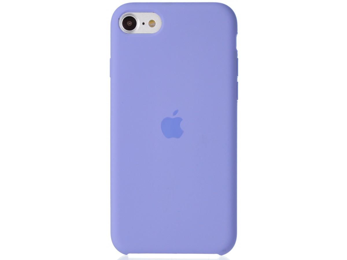 Чехол Silicone Case для iPhone SE 2020 Сиреневый в Тюмени