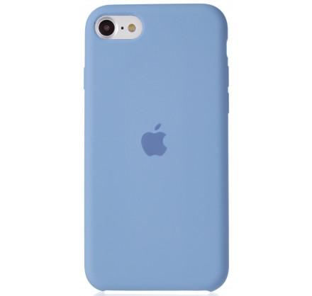Чехол Silicone Case для iPhone SE 2020 светло-голубой