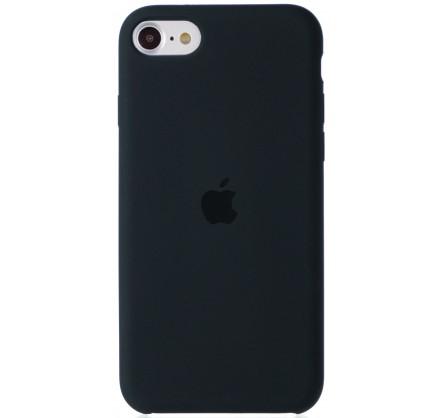 Чехол Silicone Case для iPhone SE 2020 темно-серый