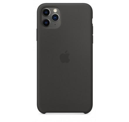 Чехол Silicone Case (С) iPhone 11 Pro черный