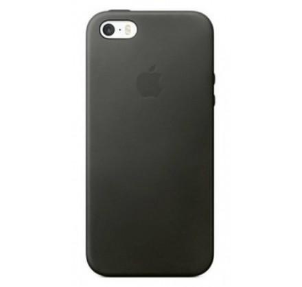Чехол Silicone Case для iPhone 5/5s/SE темно-серый