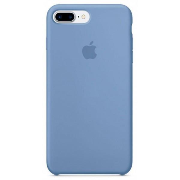 Чехол Silicone Case качество Lux для iPhone 7 Plus/8 Plus голубой