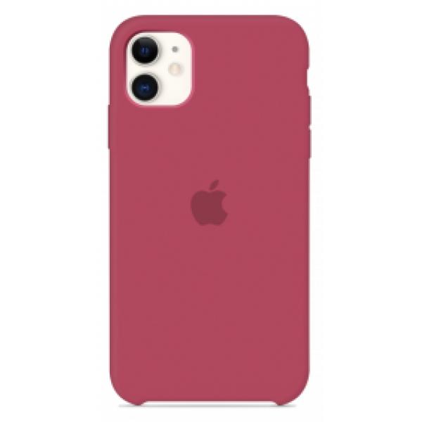 Чехол Silicone Case для iPhone 11 камелия
