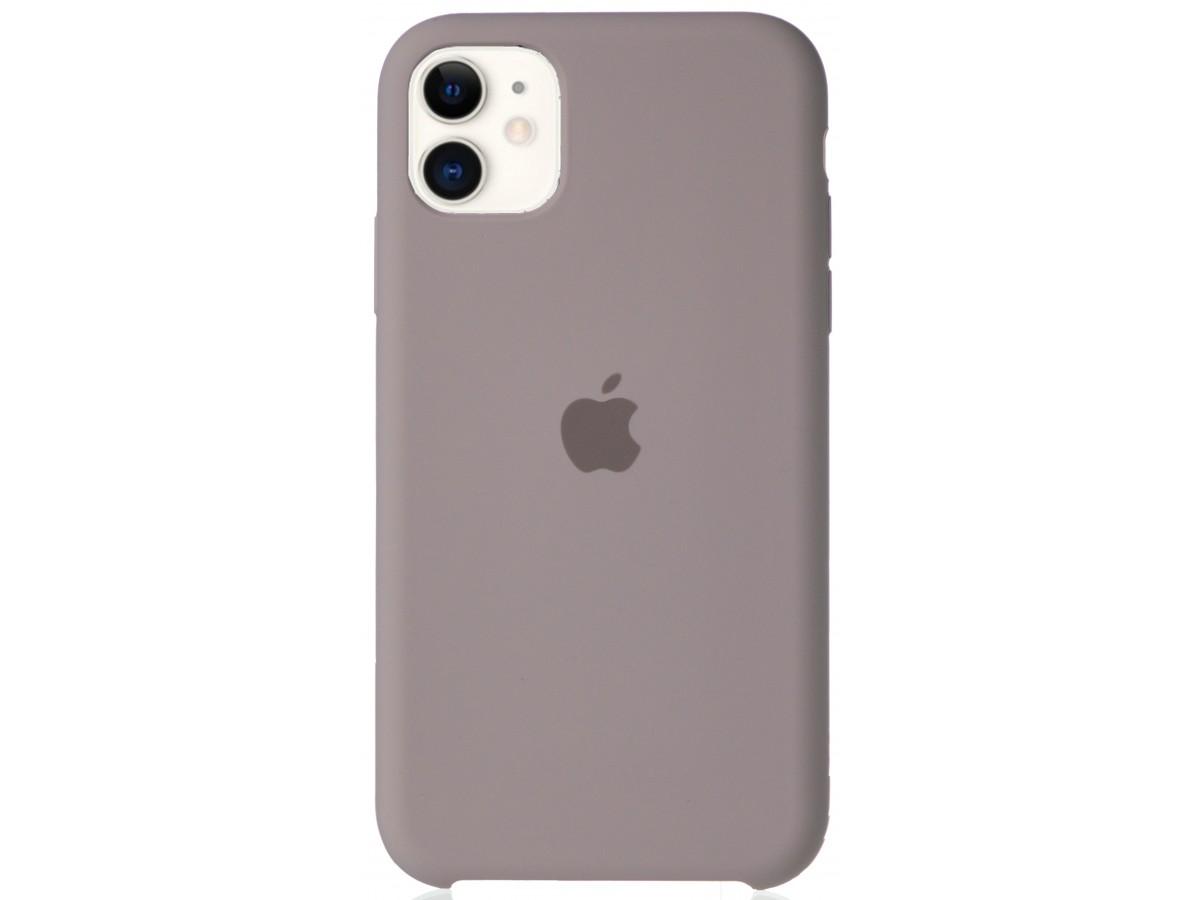 Чехол Silicone Case для iPhone 11 лавандовый в Тюмени