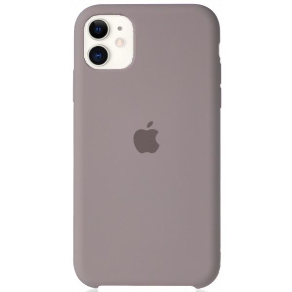 Чехол Silicone Case для iPhone 11 лавандовый
