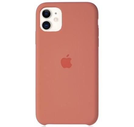 Чехол Silicone Case для iPhone 11 персиковый