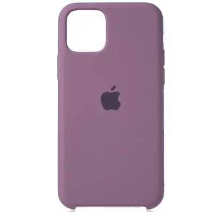 Чехол Silicone Case (С) iPhone 11 Pro черничный