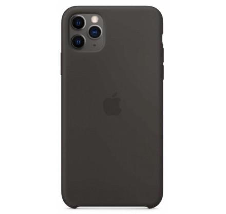 Чехол Silicone Case (С) iPhone 11 Pro темно-серый