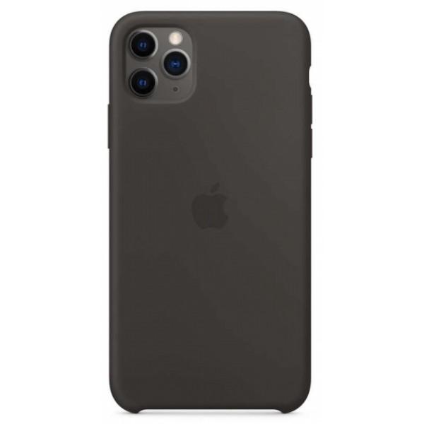 Чехол Silicone Case для iPhone 11 Pro темно-серый