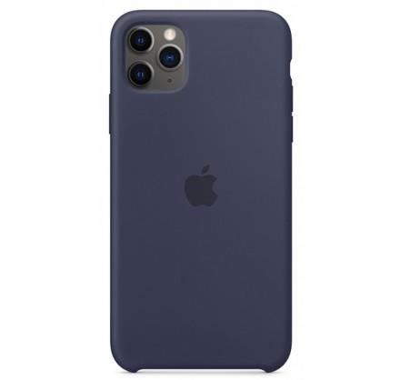 Чехол Silicone Case (С) iPhone 11 Pro темно-синий
