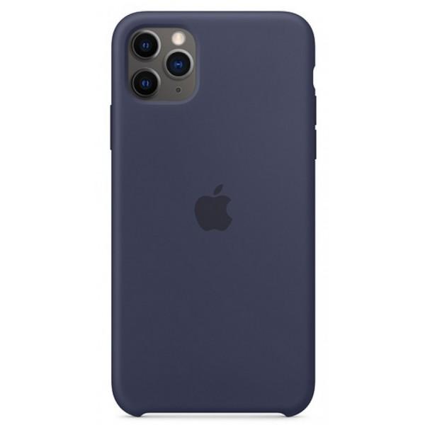 Чехол Silicone Case для iPhone 11 Pro темно-синий