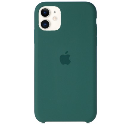Чехол Silicone Case для iPhone 11 зеленый
