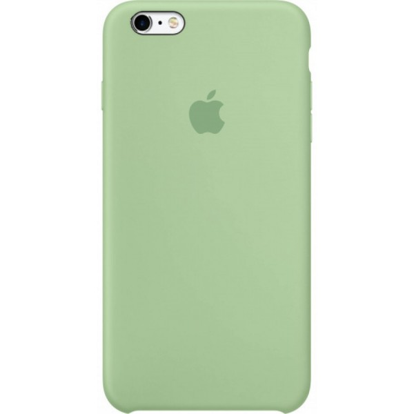 Чехол Silicone Case качество Lux для iPhone 6 Plus/6s Plus зеленый