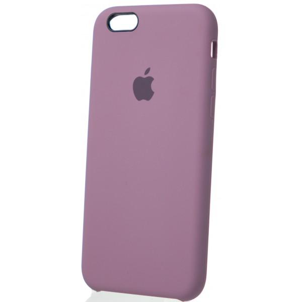 Чехол Silicone Case для iPhone 6/6s черничный