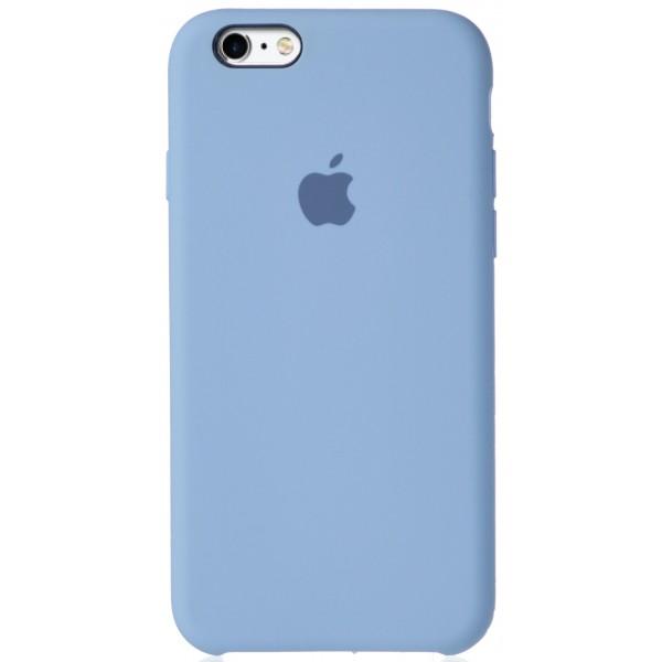 Чехол Silicone Case для iPhone 6/6s светло-голубой