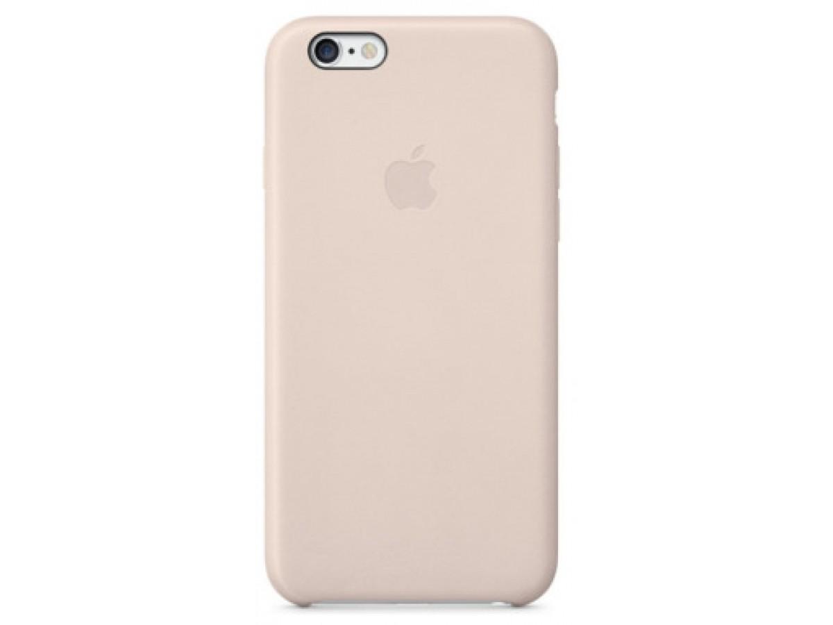 Чехол Silicone Case для iPhone 6/6s светло-розовый в Тюмени