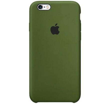 Чехол Silicone Case для iPhone 6/6s фисташковый