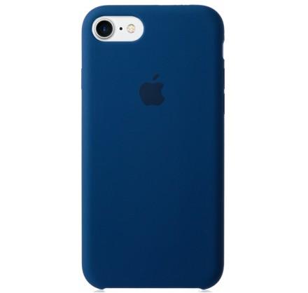 Чехол Silicone Case для iPhone 7/8 синий