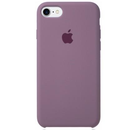 Чехол Silicone Case для iPhone 7/8 черничный