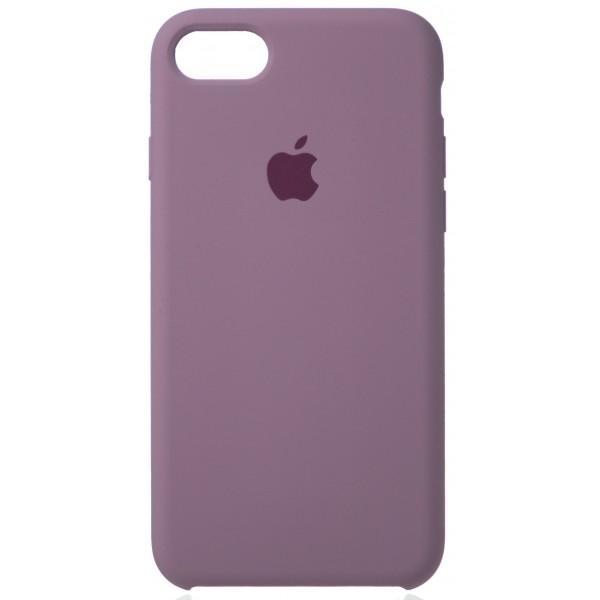 Чехол Silicone Case (С) iPhone 7/8 черничный