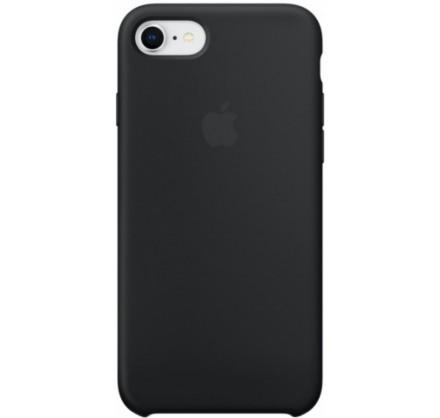 Чехол Silicone Case для iPhone 7/8 черный