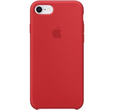 Чехол Silicone Case для iPhone 7/8 красный