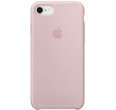 Чехол Silicone Case для iPhone 7/8 светло-розовый