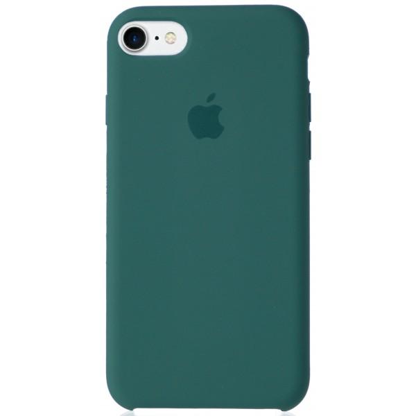 Чехол Silicone Case для iPhone 7/8 зеленый