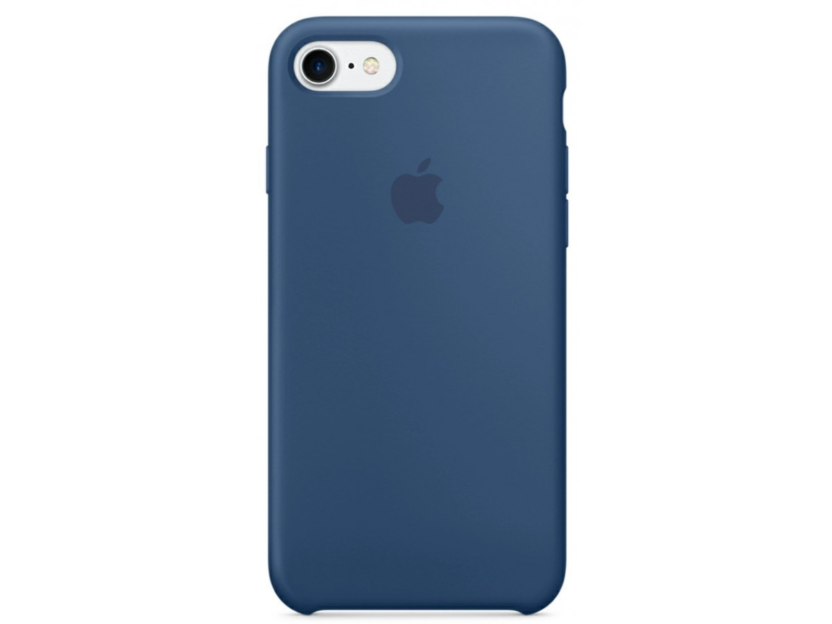 Чехол Silicone Case для iPhone 7/8 Морской горизонт в Тюмени
