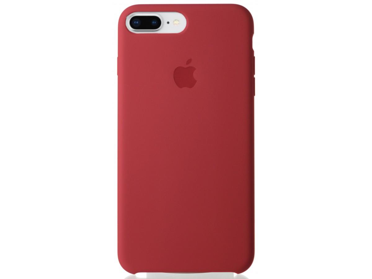 Чехол Silicone Case качество Lux для iPhone 7 Plus/8 Plus камелия в Тюмени