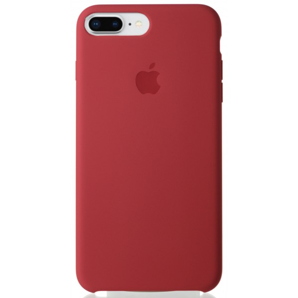 Чехол Silicone Case качество Lux для iPhone 7 Plus/8 Plus камелия