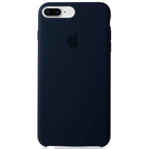 Чехол Silicone Case качество Lux для iPhone 7 Plus/8 Plus темно синий