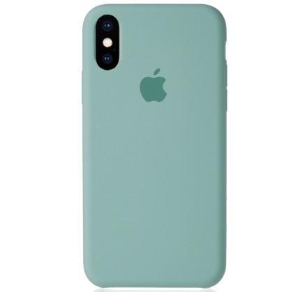 Чехол Silicone Case для iPhone Xs Max бирюзовый