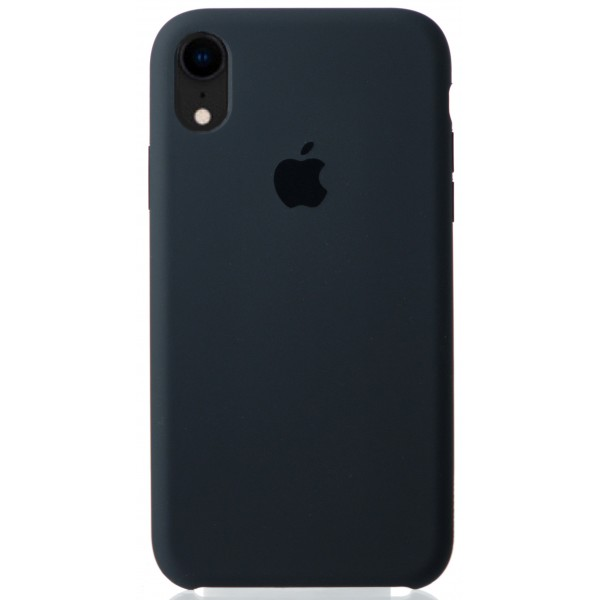 Чехол Silicone Case для iPhone XR темно-серый