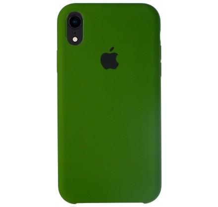 Чехол Silicone Case для iPhone XR фисташковый