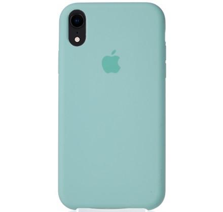 Чехол Silicone Case для iPhone XR бирюзовый