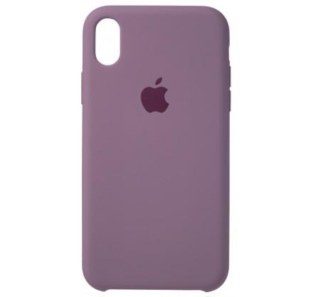 Чехол Silicone Case iPhone XR черничный