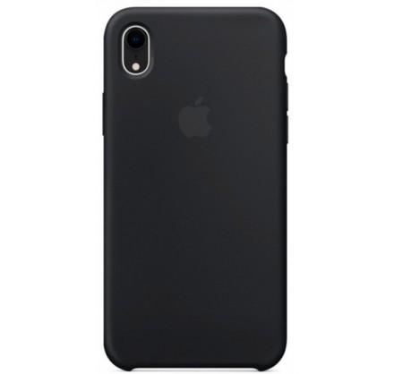 Чехол Silicone Case iPhone XR черный