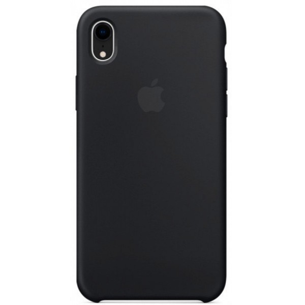 Чехол Silicone Case для iPhone XR черный