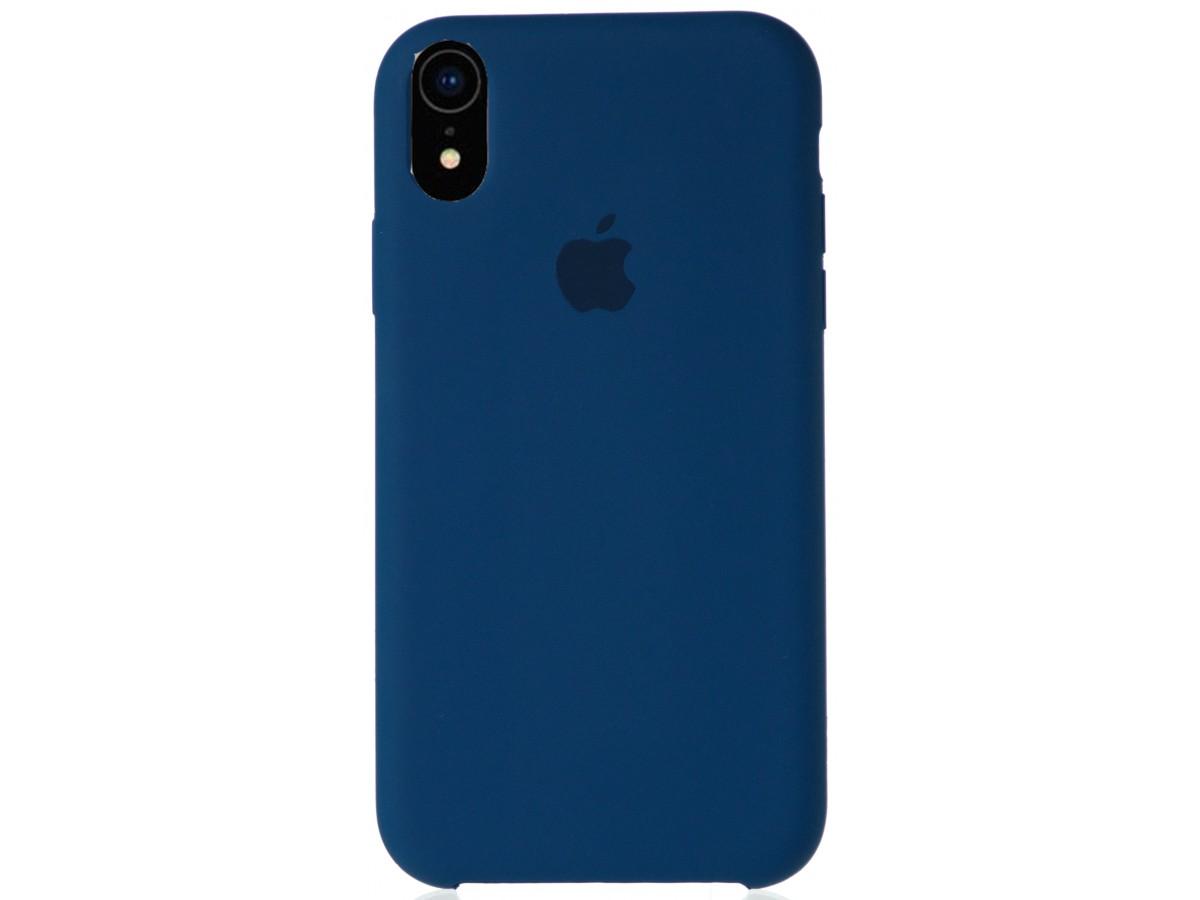 Чехол Silicone Case качество Lux для iPhone XR морской горизонт в Тюмени