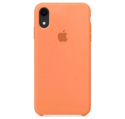 Чехол Silicone Case iPhone XR светло-оранжевый