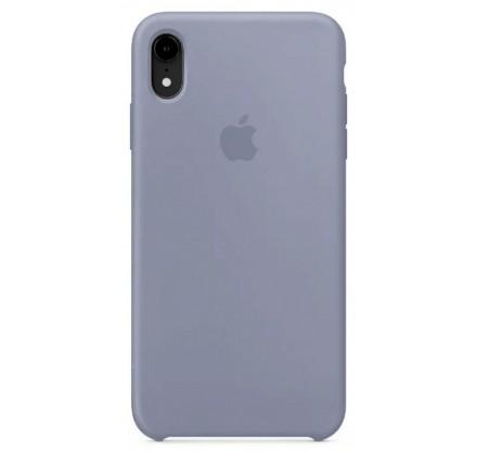 Чехол Silicone Case iPhone XR темно-лавандовый