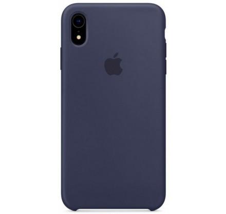 Чехол Silicone Case iPhone XR темно-синий