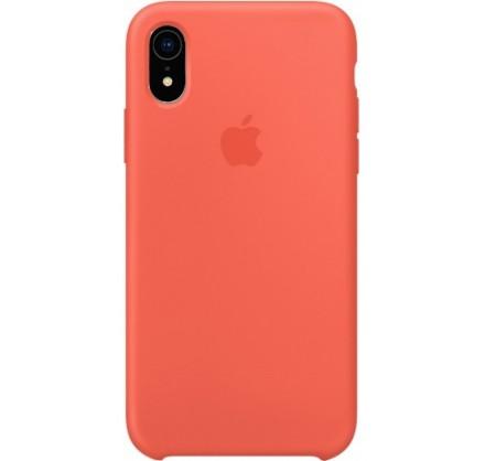 Чехол Silicone Case качество Lux для iPhone XR оранжевы...